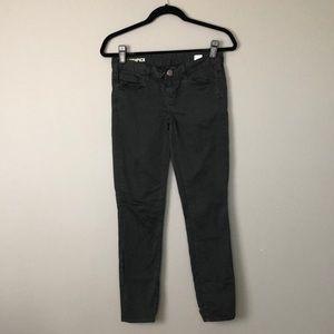 J.Crew l Black Ankle Toothpick Jeans
